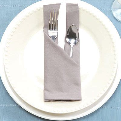 Folding Silverware In Paper Napkins - 25 best ideas about wedding napkin folding on