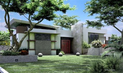 modern bungalow house designs philippines small lot modern