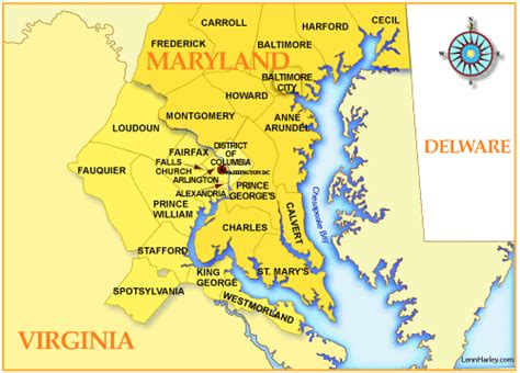 Southern Maryland Search Map Of Southern Maryland Clubmotorseattle