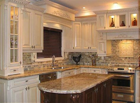 small kitchen backsplash kitchen kitchen design with small tile mosaic backsplash
