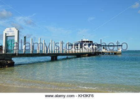 boat mooring oahu white sailing yacht moored at the pier with stock photo