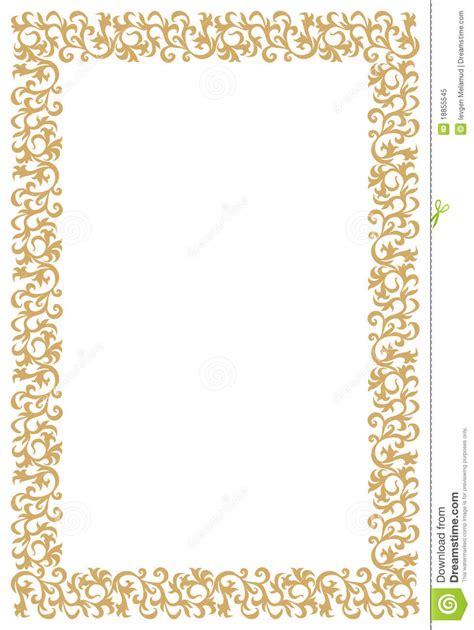 cornici diplomi da stare frame dourado do diploma ou do certificado foto de stock