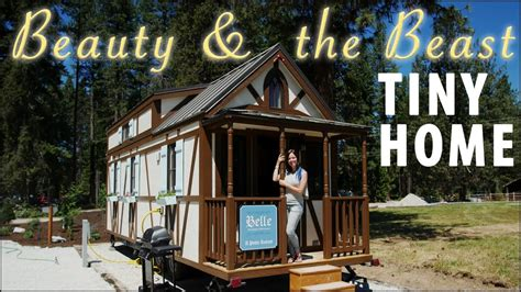 tiny house named quot quot with and the beast decor