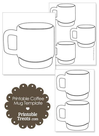Coffee Mugs Mugs And Coffee On Pinterest Free Printable Coffee Mug Template