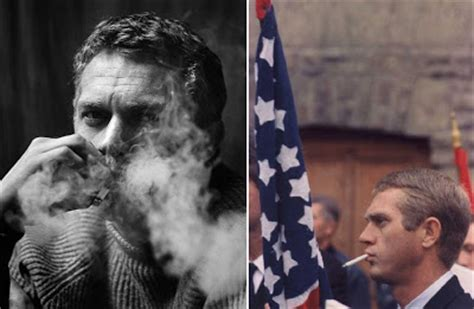 steve mcqueen smoking my new plaid pants i quit smoking five years ago today