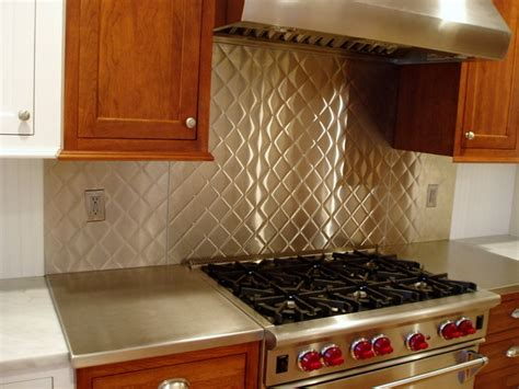 quilted stainless steel custom contemporary