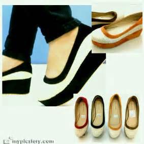 Flat Shoes Salur wedges flatform panda 5cm rp 125 000 beautystoreochie