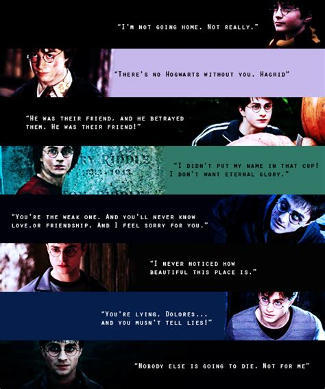 Film Quotes Harry Potter | ink paint and harry potter quotes from the movies