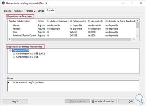 windows 10 directx tutorial herramienta de diagnostico directx en windows 10 solvetic