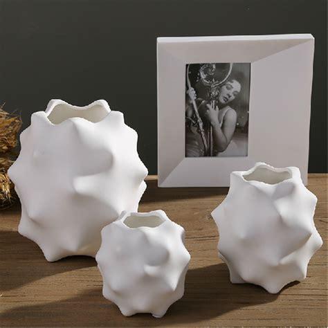 Ceramic Vases For Centerpieces by 3 Ceramic Vase Set Wedding Table Decor