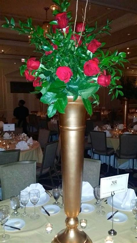 trumpet vase centerpiece 1000 ideas about trumpet vase centerpiece on