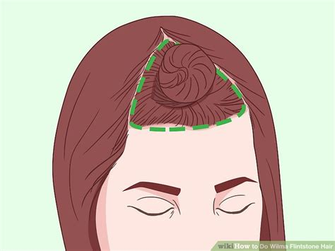 wilma hairstyle how to do wilma flintstone hair with pictures wikihow