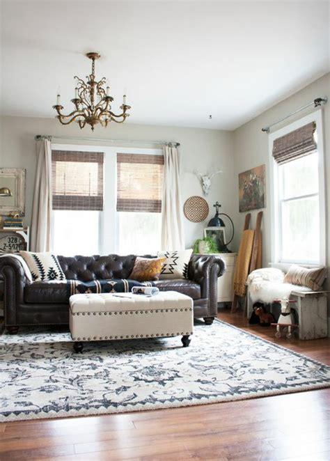 leuchter wohnzimmer chesterfield sofa ein st 252 ck klasse ins innendesign bringen