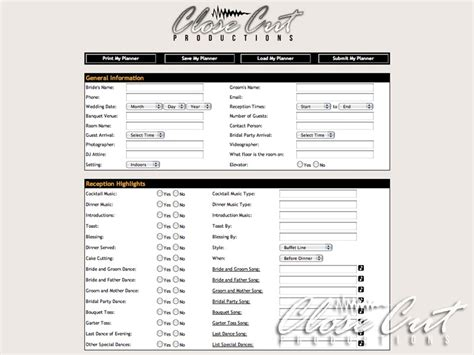 printable planner forms best photos of free event planner forms printable event