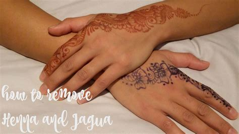 how to take off a henna tattoo top 7 tips on how to remove henna and jagua stains from