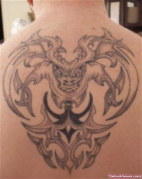tribal gargoyle tattoo tribal gargoyle design viewer
