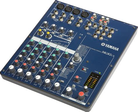 Mixer Console Yamaha yamaha mg82 cx 4 channel analog mixing console cps