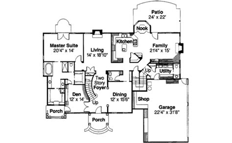 duggar house floor plan colonial style house plan 5 beds 5 5 baths 4076 sq ft