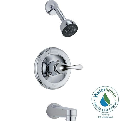 Delta Tub And Shower Trim Kit by Delta Classic 1 Handle Tub And Shower Faucet Trim Kit In
