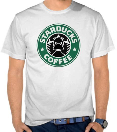 Kaos Starkbucks Coffee jual kaos starducks coffee parodi logo starbucks