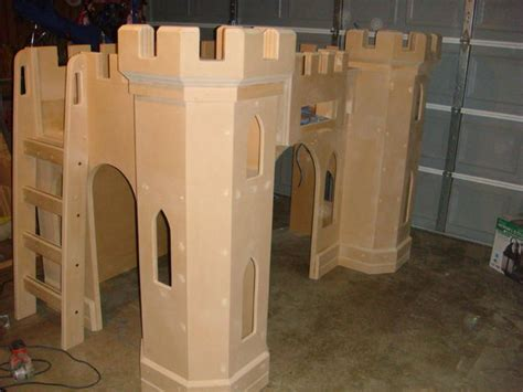 diy castle bed building a pretty princess castle bed your child will love