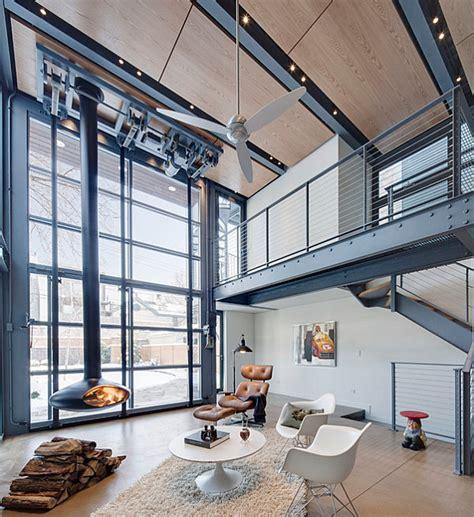 Desain Rumah Industrial | ingin interior rumah berbeda coba desain industrial yang
