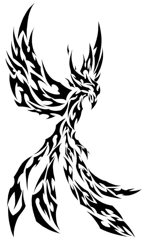 tribal phoenix by l4tin g3cko on deviantart