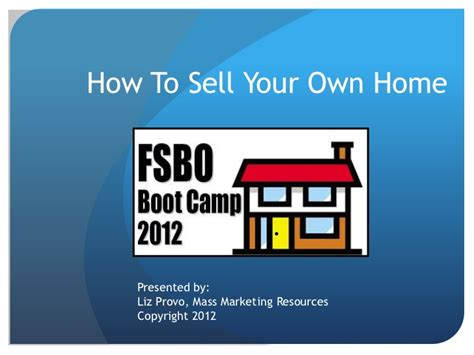 how to sell your house on your own how to sell your own home fsbo bootc pt 1