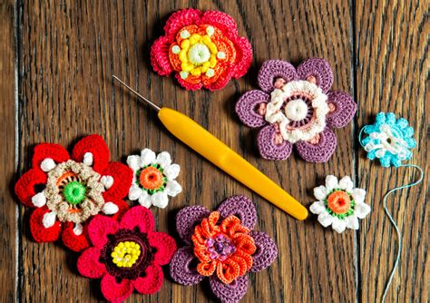 Handmade Puzzle - crocheted flowers jigsaw puzzle in handmade puzzles on