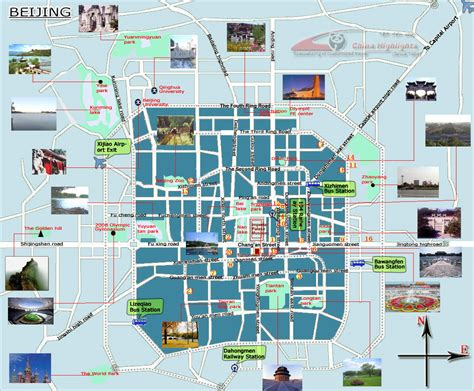 tourist map of beijing tourist map beijing mappery