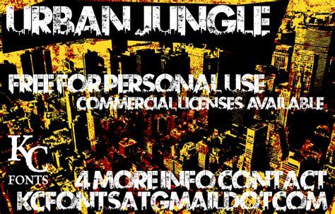 dafont urban urban jungle schriftart dafont com