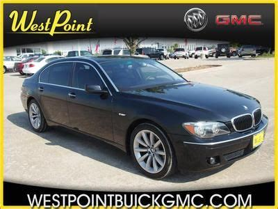 auto air conditioning service 2007 bmw 7 series navigation system buy used 750li 4 8l nav power windows power door locks center console air conditioning in