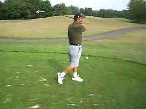 the man with the perfect swing old man most awkward looking golf swing ever perfect