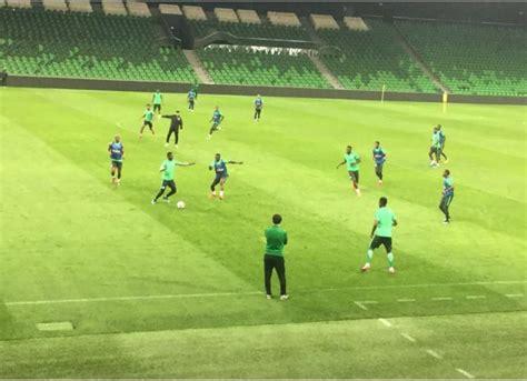 nigeria vs argentina eagles squad ready for tuesday