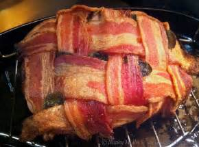 bacon wrapped turkey breast she cooks he cleans