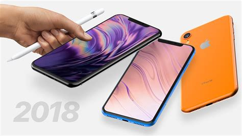 2018 iphone xr xs plus leaks apple pencil 512gb support