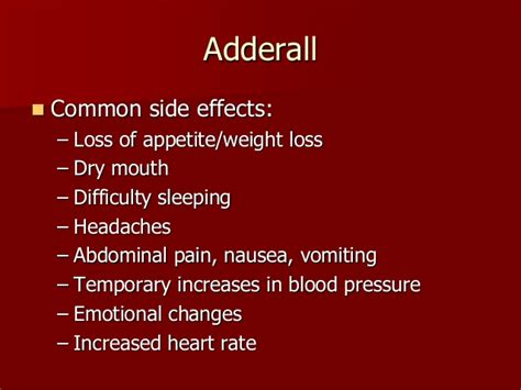 can adderall cause mood swings adhd presentation
