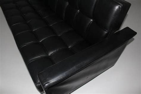 black leather settees for sale black leather settee or daybed by johannes spalt vienna