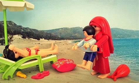 playmobil bett artist nikos papadopoulos has shown european politics