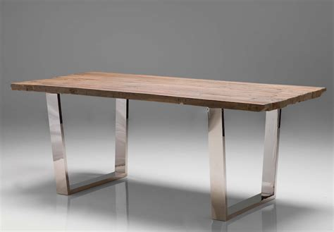 Metal Conference Table 79 Quot Reclaimed Wood Stainless Steel Modern Desk Or Conference Table Stainless Steel Desks