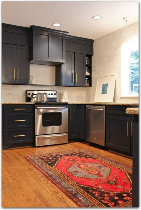 dark painted kitchen cabinets project library dark cabinets fieldstone hill design