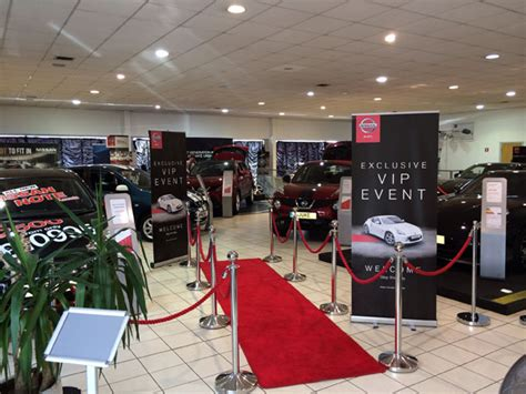 themed sales events automotive services car display rs vip showroom