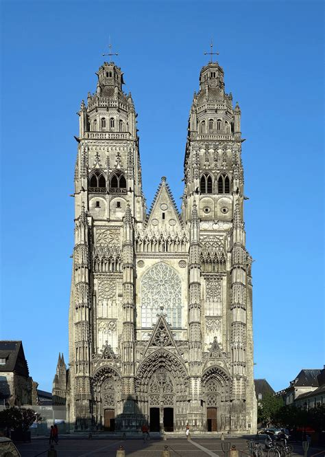 D E Tour catedral de tours la enciclopedia libre