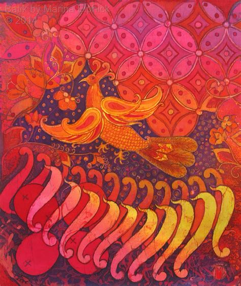design batik phoenix kawung batik motif the batik route
