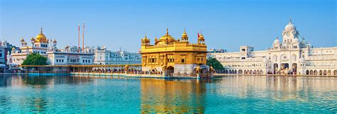 harmandir sahib temple  god amritsar iconic sights