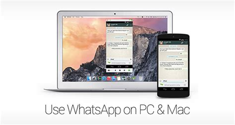 tutorial whatsapp mac how to use whatsapp on windows pc or mac redmond pie
