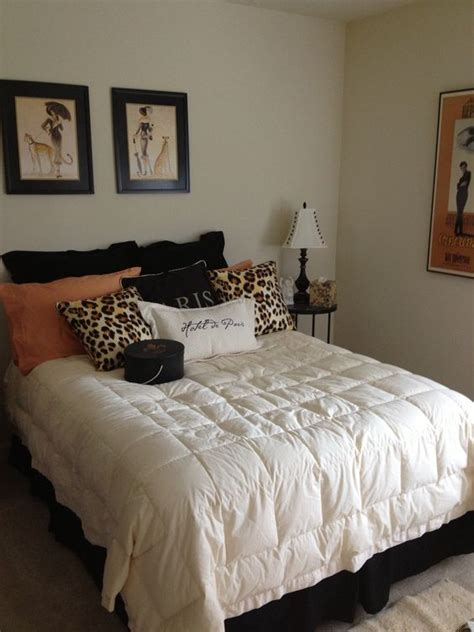 leopard bedroom ideas decorating ideas for bedroom with paris and leopard print