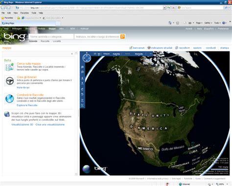 download microsoft virtual earth 3d maps bing maps 3d download