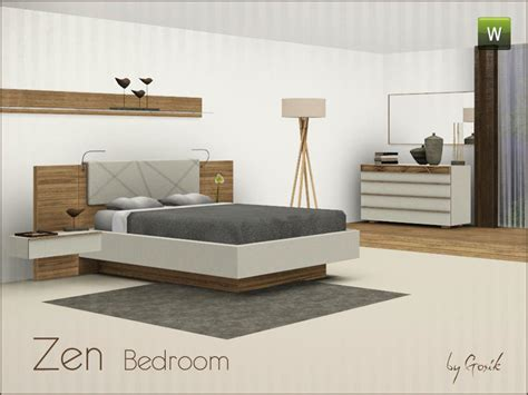 zen bedroom set gosik s zen bedroom
