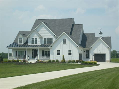 white siding house charcoal roofs and white houses white siding black standing seam roof circleville